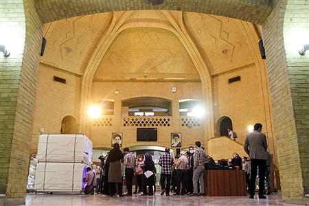 مراسم بازدید از اولین نمونه هتل کپسولی | Behrooz Khalili