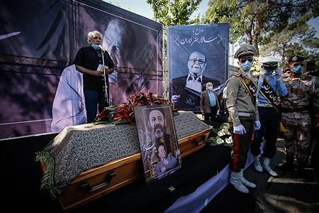 مراسم تشییع مرحوم محمدعلی کشاورز | Ali Sharifzade