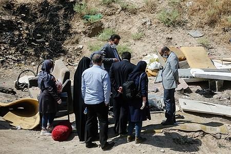 بازدید علی اعطا عضو شورای شهر تهران از محدوده کوره های آجرپزی منطقه 19 | Ali Sharifzade