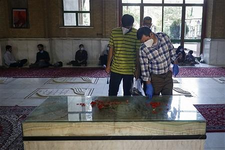 گلباران مزار شهدای هفتم تیر | Mahdi Maheri