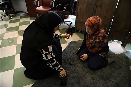 تولید محتوای سازمان دانش آموزش در منطقه ۱۳ | Zahra Alihashemi