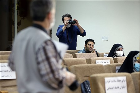 نشست خبری سازمان استثنایی شهر تهران | Zahra Alihashemi