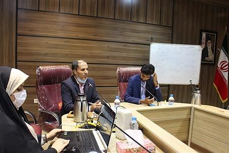 جلسه توجیهی آموزشی مسئولین سازمان دانشآموزی مناطق 21گانه شهرستانهای استان تهران   Naghmeh Mokhtari