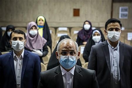 افتتاحیه طرح سنجش سلامت نوآموزان | Ali Sharifzade