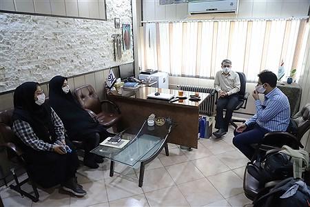 تولید محتوای سازمان دانش آموزی شهر تهران در منطقه 14 | Zahra Alihashemi