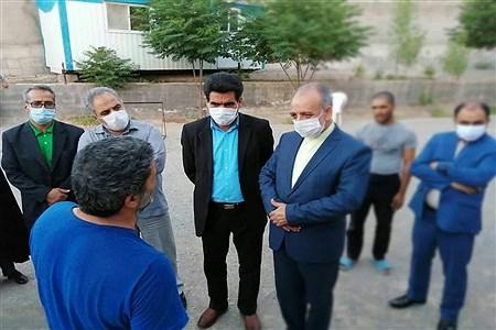 بازدید و دیدار مدیر کل آموزش و پرورش خراسان جنوبی با 18 دانش آموز با نیاز های ویژه | MohadesehHesami