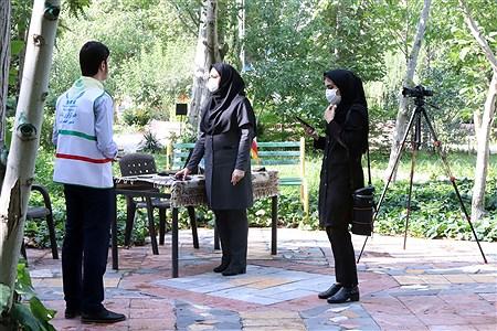 تولید محتوای سازمان دانشآموزی شهر تهران در منطقه 4 | Zahra Alihashemi