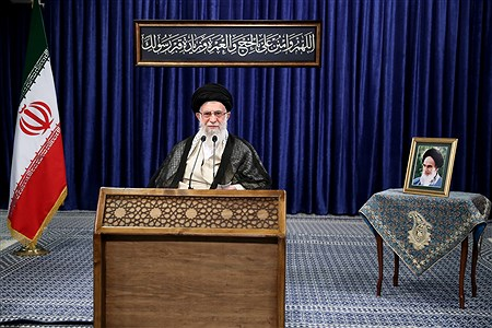 سخنرانی تلویزیونی  رهبر انقلاب اسلامی  به مناسبت عید قربان | khamenei.ir