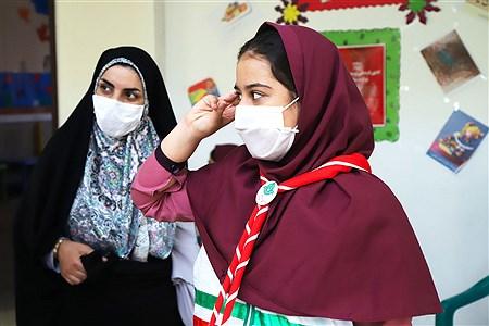 تولید محتوای سازمان دانش آموزی شهر تهران در منطقه 5   Zahra Alihashemi
