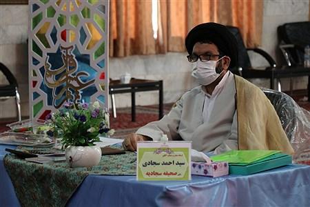 روز دوم مسابقات مجازی قرآن عترت و نماز دانش آموزان کشور در مشهد | Javad Ebrahimi