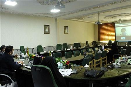 نشست ویدیو کنفراس مسئولین مناطق و نواحی سازمان دانش آموزی خوزستان | Mohamad Shahrokh Nasab