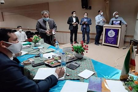 روز دوم مسابقات مجازی قرآن عترت و نماز دانش آموزان کشور در مشهد |