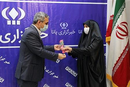 بازدید معاون وزیر آموزش و پرورش در آستانه عید غدیرخم و روز خبرنگار از خبرگزاری پانا |