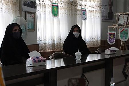 دیدارمدیرآموزش وپرورش شهرستان بیرجند آقای یکه خانی بادانش آموزخبرنگاران  پانا استان خراسان جنوبی به مناسبت 17 مرداد روز خبرنگار   MAHDI ARASTEH