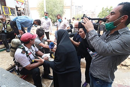 آتش سوزی بازار پردیس کیش2 | Amir Hossein Yeganeh