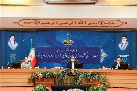 نشست وزرای کشور و ورزش و جوانان با مجمع سازمان های مردم نهاد   Behrooz Khalili