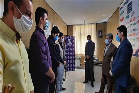 حضور مدیر کل آموزش و پرورش  البرزدر دفتر  خبر گزاری پانا به مناسبت روز خبر نگار  | zaharamontazey