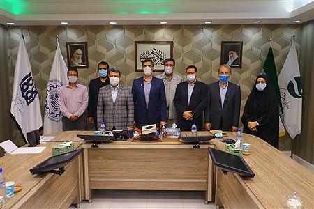 امضای تفاهم نامه همکاری پردیس بین الملل دانشگاه صنعتی شریف و پردیس بین الملل علوم پزشکی دانشگاه تهران در جزیره کیش   Amir Hossein Yeganeh