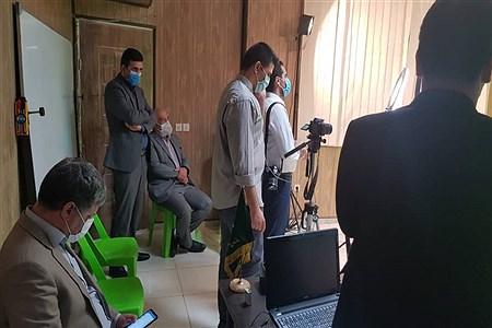 حضور رئیس سازمان استثنایی کشور در دفتر خبر گزاری پانا البرز  |