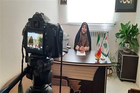 تولید محتوای سازمان دانشآموزی در منطقه 9   Fatemeh Merikhnejad