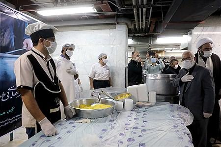 افتتاح اولین آشپزخانه اطعام حسینی  | Bahman Sadeghi