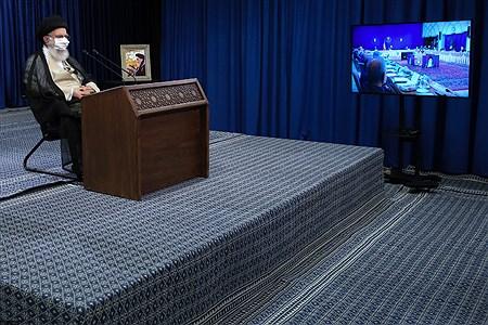 سخنرانی رهبر انقلاب در ارتباط تصویری با جلسه هیات دولت | khamenei.ir