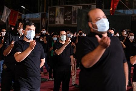 عزاداری حسینی در هیئت ریحانهالحسین   Behrooz Khalili