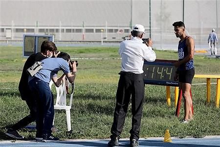 مسابقات جایزه بزرگ دوومیدانی آقایان | Bahman Sadeghi