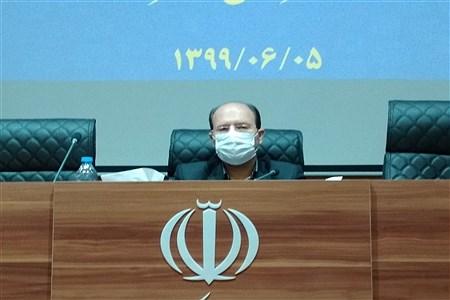 پنجمین جلسه ش.رای آموزش و پرورش در فرمانداری کاشمر با رعایت پروتکل های بهداشتی رعایت شد. | MojtabaSahebzamani