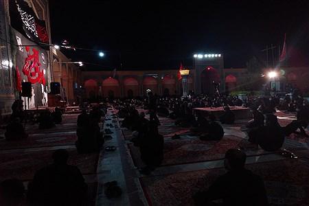 مراسم شب عاشورای حسینی با رعایت پروتکل های بهداشتی در آرامگاه آیت الل.. المدرس برگزار شد. | MojtabaSahebzamani