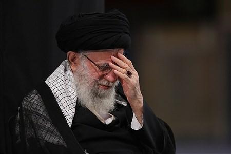 مراسم عزاداری شب عاشورای حسینی (علیهالسلام) | khamenei.ir