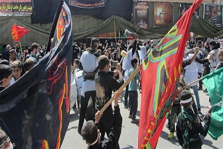 مراسم عزاداری مردم کرمانشاه در عاشورای حسینی | Sarina rahmani