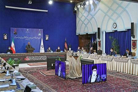 ارتباط تصویری سی و چهارمین اجلاس آموزش و پرورش با رهبر انقلاب | leader.ir