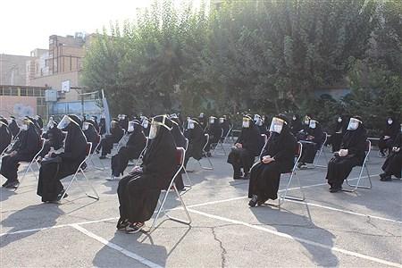 آغاز سال تحصیلی 1400-1399با رعایت پروتکل های بهداشتی در اسلامشهر | Zahra Sohrabi