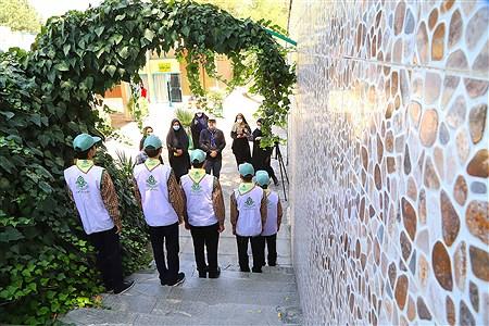 تولید محتوای سازمان دانش آموزی شهر تهران در منطقه 15 | Zahra Alihashemi