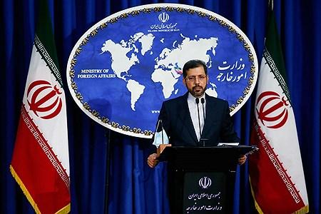 نشست خبری سخنگوی وزارت امور خارجه   Bahman Sadeghi