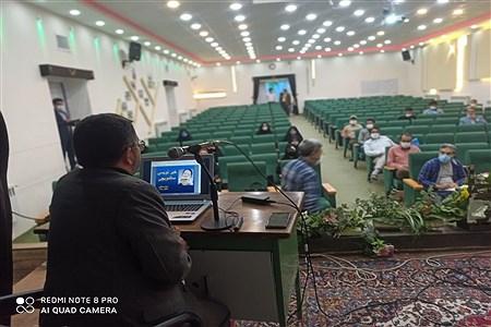 نخستین دوره آموزش مقدماتی خبرنگاری به همت بسیج رسانه در سالن شهید شهابیان کاشمر   FarzadAsodeh