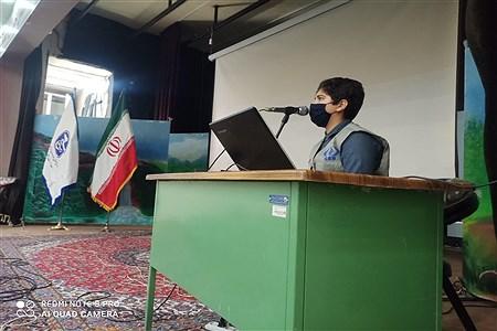 نخستین دوره آموزش مقدماتی خبرنگاری به همت بسیج رسانه در سالن شهید شهابیان کاشمر | AbasAliSHahabiyan