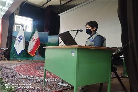 نخستین دوره آموزش مقدماتی خبرنگاری به همت بسیج رسانه در سالن شهید شهابیان کاشمر   AbasAliSHahabiyan