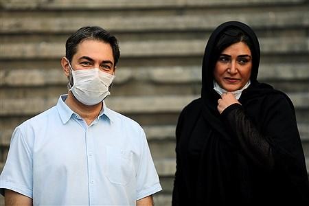 نشست خبری عوامل فیلم بی حسی موضعی   Bahman Sadeghi
