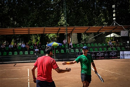 مسابقات جام حذفی  تنیس باشگاهها | Ali Sharifzade