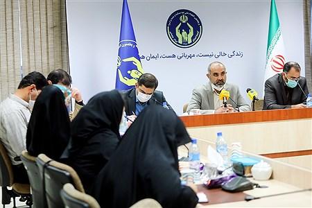 نشست خبری معاون حمایت و سلامت خانواده کمیته امداد امام (ره)   Behrooz Khalili