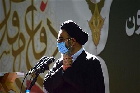 آیین تجلیل و تکریم سراسری یک میلیون پیشکسوت دفاع مقدس و مقاومت همزمان با سراسر کشور در مصلی تبریز برگزار شد. | Mahdi rafiee kia