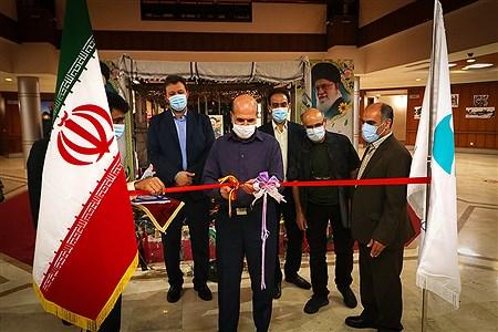 افتتاح نمایشگاه دفاع مقدس در جزیره کیش | Amir Hossein Yeganeh