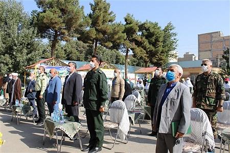 نواخته شدن زنگ مقاومت،ایثار و پیروزی در آموزشگاه شهدای ایران تایر اسلامشهر    Zahra Sohrabi