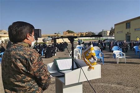 مراسم بزرگداشت هفته دفاع مقدس در آموزش و پرورش کاشمر | MojtabaSahebzamani