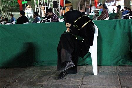 برگزاری مراسم عزاداری مردم یزد در حسیسنه امیر چخماق یزد . | yasaman soltani