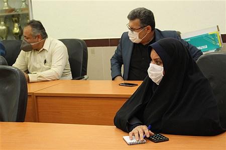 نشست شورای جهادی با حضور معاون پرورشی اداره کل آموزش و پرورش خوزستان  | Mohamad Shahrokh Nasab