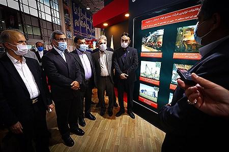 افتتاحیه نمایشگاه بین المللی فولاد ایران در جزیره کیش | Amir Hossein Yeganeh