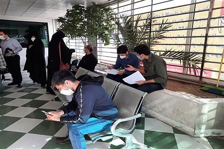 مراجعه پذیرفته شدگان دانشگاه فرهنگیان به هسته گزینش منطقه 13   parisa samadi